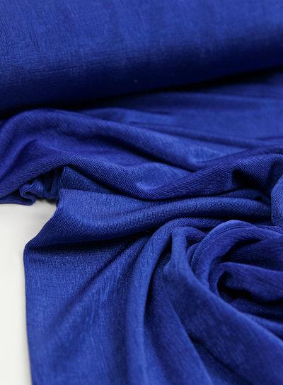 Fibremood Juliette - cobalt stretch fabric