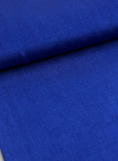 Fibremood Juliette - kobalt soepelvallende rekbare stof