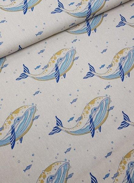 ocean life - deco fabric
