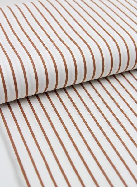 La Maison Victor lmv - rusty stripes - stretch cotton