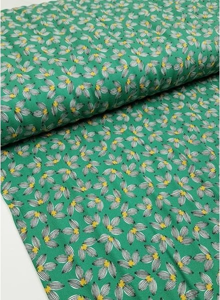 green littles leaves - viscose