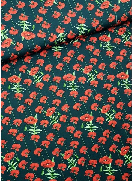 red roses - tricot
