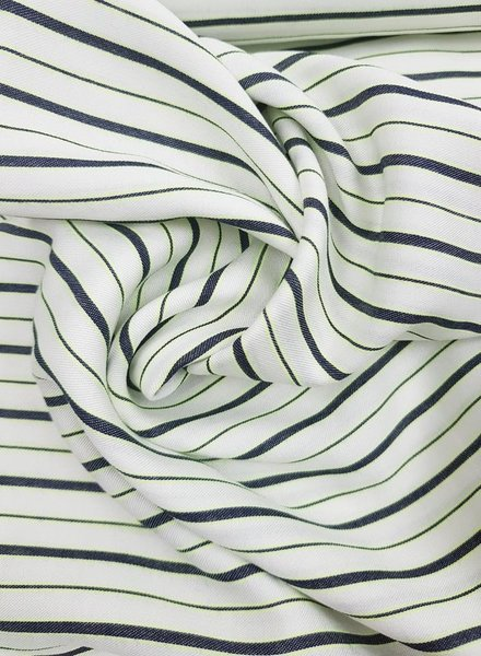 Fibremood neon yellow stripes - viscose
