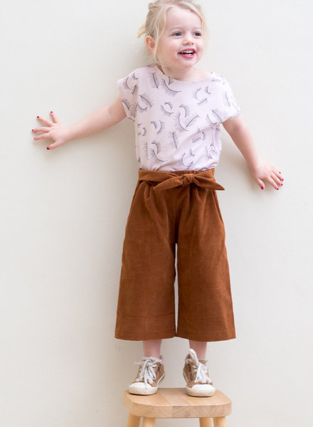 Wisj patterns Clara culotte kids & teens