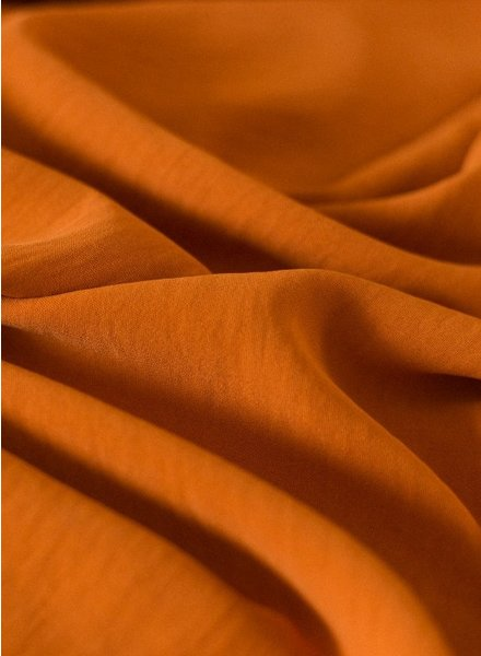 Fibremood rusty - textured polyester fabric