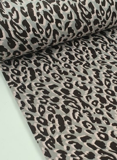 leopard - nicky velours