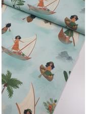 polynesian seafarers - cotton