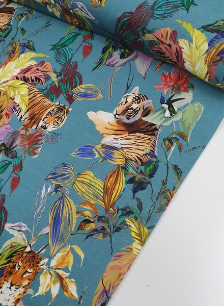 Hummingbird with tigers - jersey