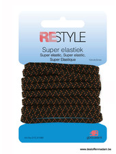 super elastic  black - 4,5mm