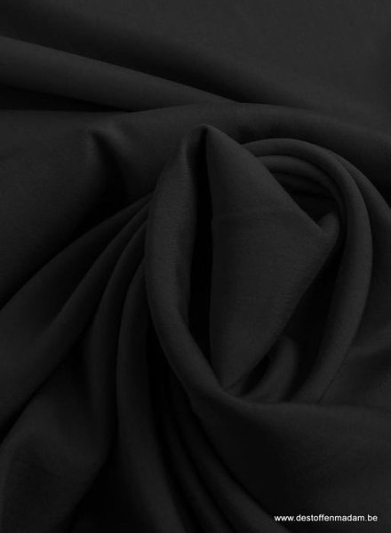 black - poplin modal