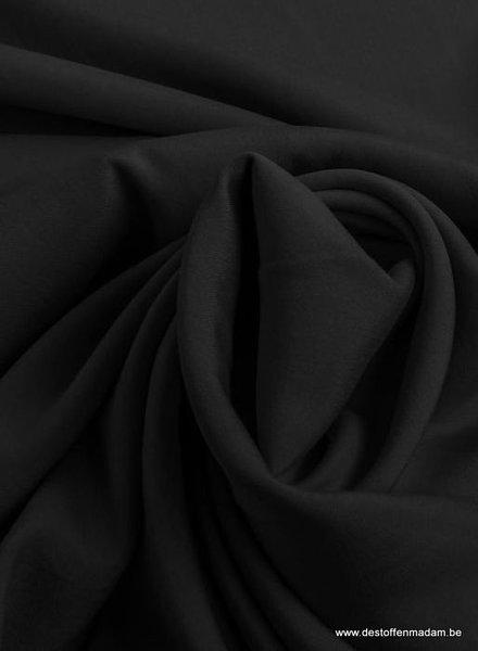 zwart - poplin modal
