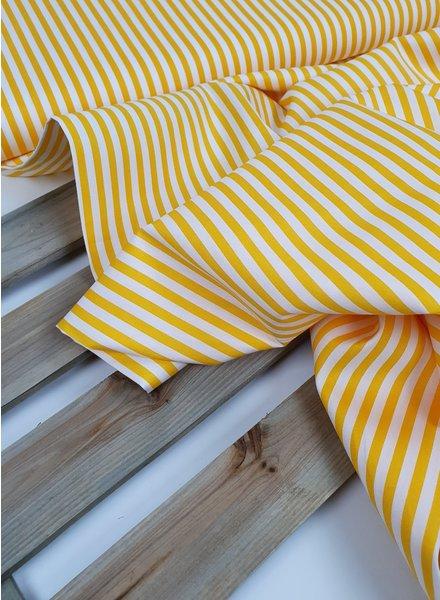 La Maison Victor gele strepen - katoen