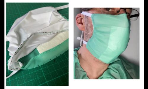 Mondmaskers - patroon FOD Volksgezondheid