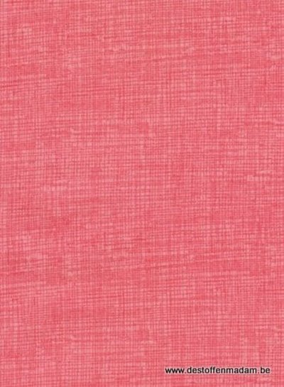 Timeless Treasures Fabrics sketch coral - katoen
