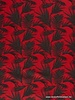 coral leaves - linnen viscose mix