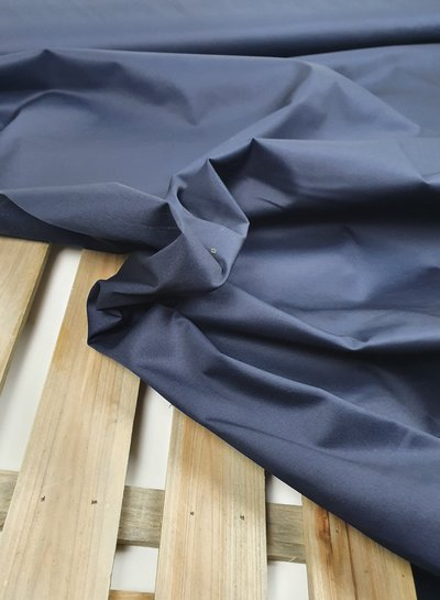marineblauw -  cotton twill gabardine