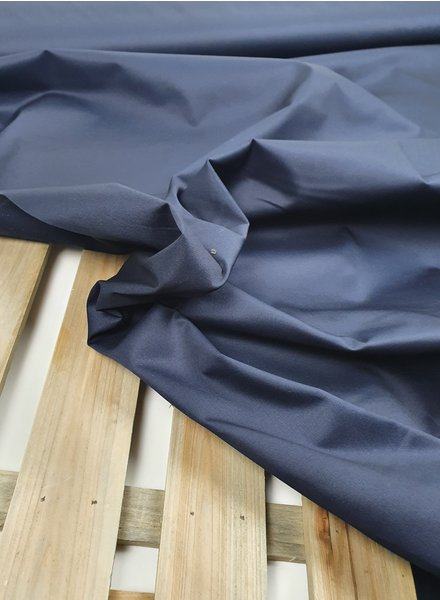 marineblauw -  cotton twill gabardine