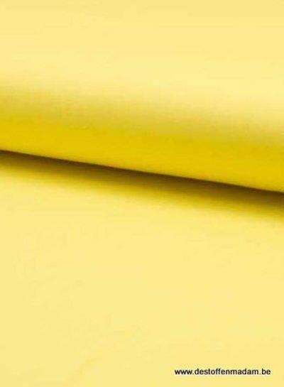 geel viscose twill