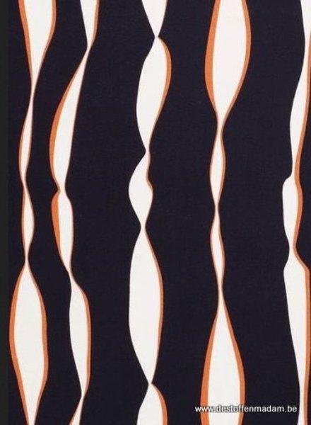 orange lines - viscose