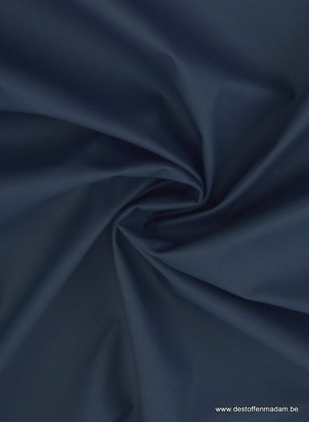 M marineblauw regenjasstof PUL