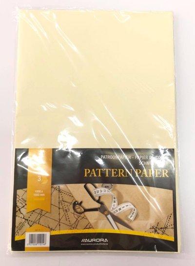 patroonpapier gevouwen 3 vellen 100*150cm