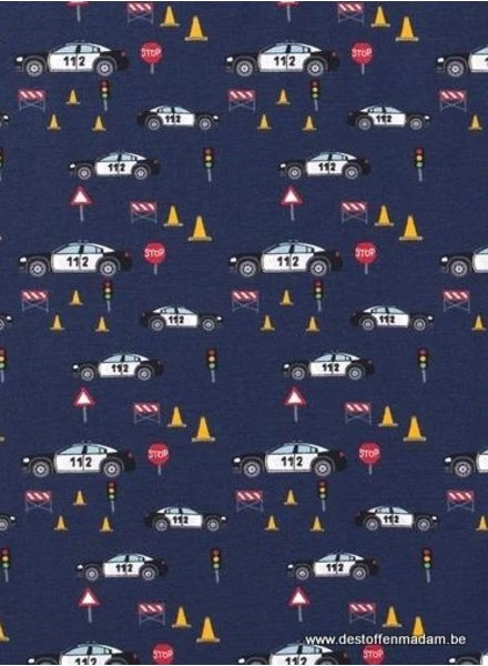 police cars - tricot