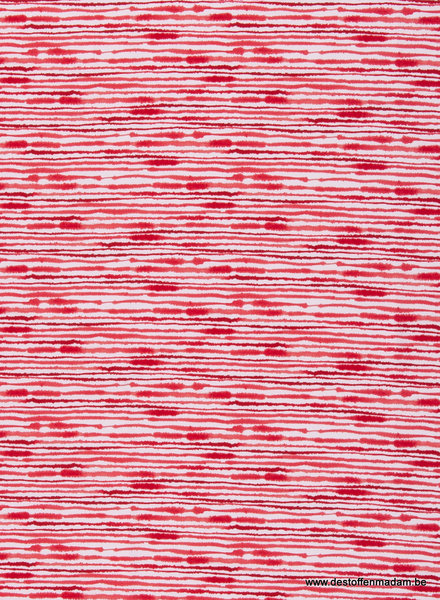 red stripes  - tricot