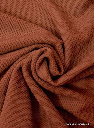 roest pique structuur tricot
