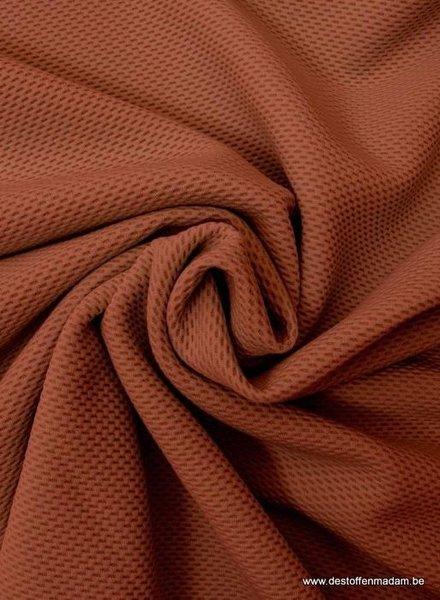 roest stipjes structuur tricot