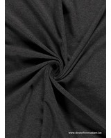 antraciet melee effen tricot