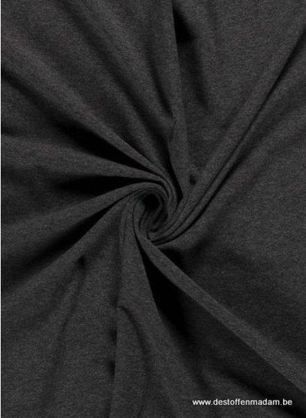 effen tricot - antraciet melee 068