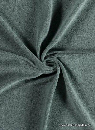 mintgroene spons - rekbare badstof
