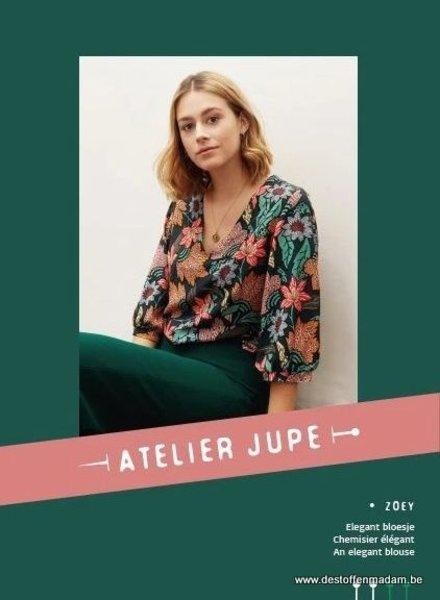 Zoey blouse pattern - Atelier Jupe