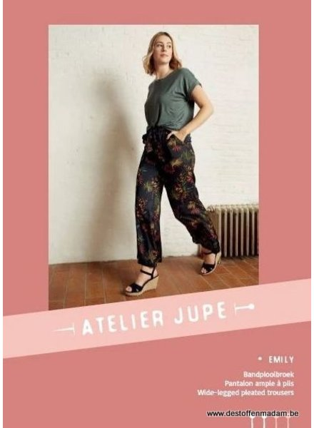 Emily trousers pattern - Atelier Jupe