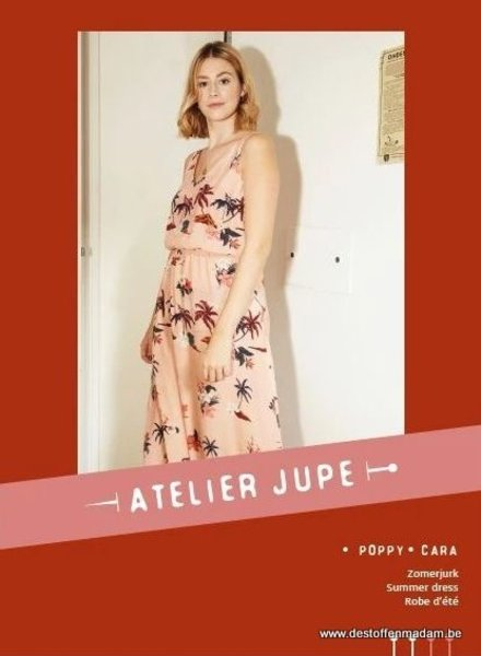 Poppy & Cara zomerjurk patroon - Atelier Jupe