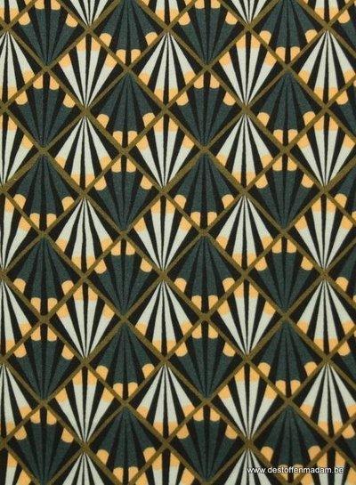 Atelier Jupe geometric print viscose