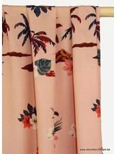 Atelier Jupe soft pink Hawai viscose