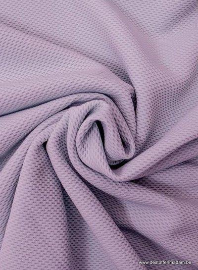 lila pique structuur tricot