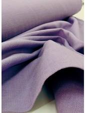 lila - rekbaar linnen katoen mix - superzachte kwaliteit