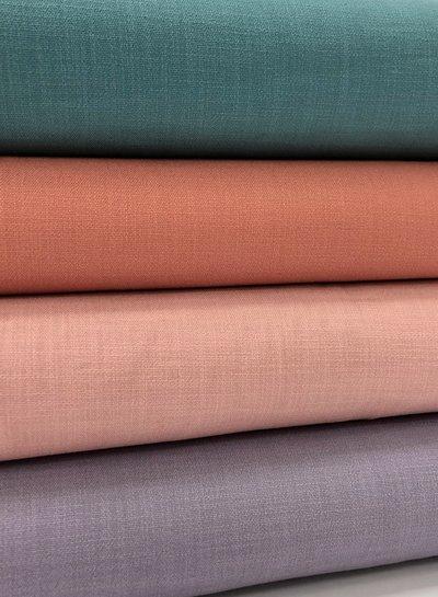lilac - stretch linen cotton mix - soft quality