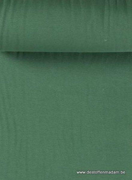 forest green  - solid rib cuff