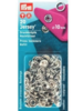 Prym Jersey press fasteners refill 20 pieces silver 10 mm