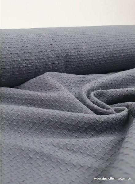 grey - structured cotton