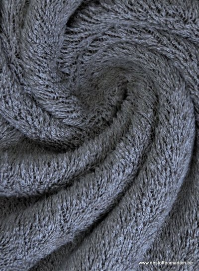 grey melee terry towel fabric