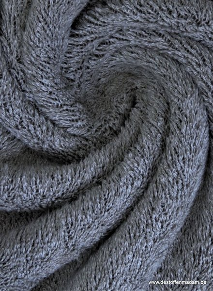 grey melee terry towel fabric