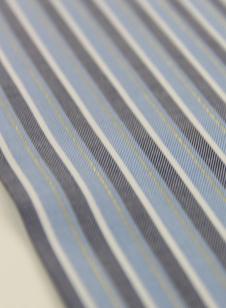 blue lines with lurex - viscose