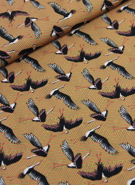 cranes - viscose
