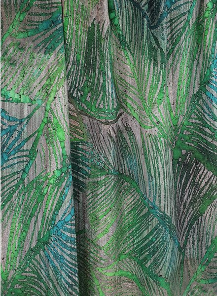 jungle print viscose - with a little bit of stretch