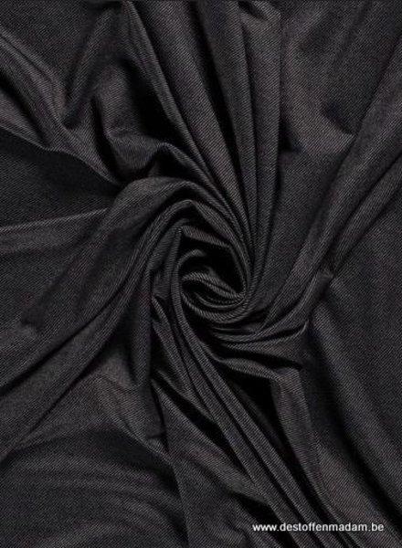 black denim look jersey