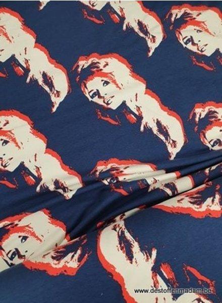 Brigitte Bardot - french terry